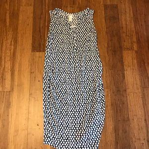 MAMA maternity stretchy dot dress